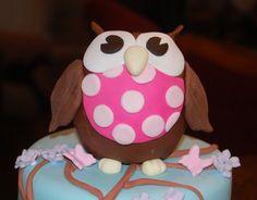 owl cake ideas
