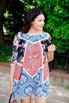 patterned dress / kendi everyday