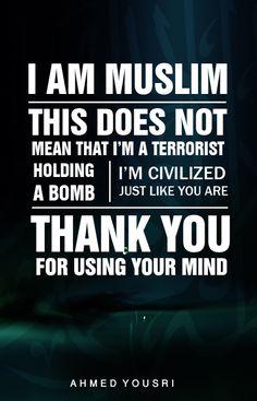 I am Muslim :)