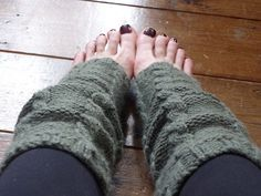 Ravelry: Cabled Yoga Leg Warmers pattern by Lizzy Kingston