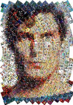 Superman mosaic