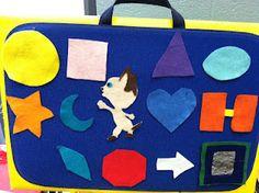 In the Children's Room: Flannel Friday: Skippyjon Jones Shapes Up