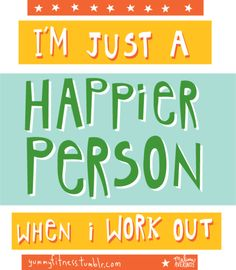bring on those endorphins