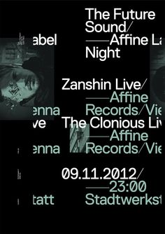 The Future Sound — Affine Rec. Label Night