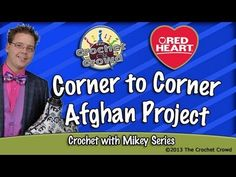 Crochet Corner To Corner Afghan Project - YouTube