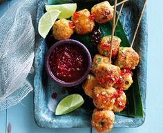Hayden Quinn's Thai fish balls on a stick | Recipes | Eat Out