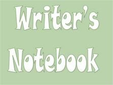Introducing Writer's Notebook powerpoint for smartboard use