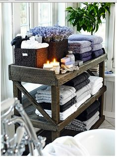 Perfect for bathroom or bedroom
