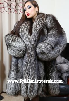 fur sleev, fur cite, fox fur, fur coat, silver foxes, fav fur, fur fetish, coats, black