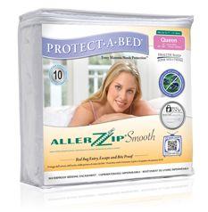 AllerZip Smooth Mattress Encasement by Protect-A-Bed!