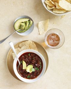 Texas Red Chili - Martha Stewart Recipes