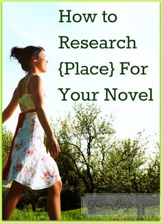 One of my favorite parts of research is researching the settings/locations of my novels. You may consider setting to be the physical location, but it's so much more than that. The place of your novel includes the physical location, but it also includes the attitudes of the people of the region as a group and as individuals.