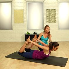 Tone Your Back and Chisel Your Waist With Yoga - did most of these this morning and really loved it - great stretches too!