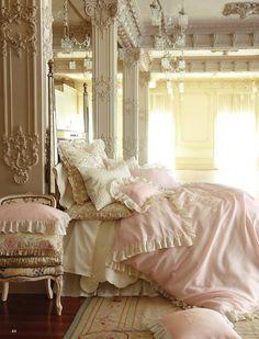 Elegant Victorian style bedroom