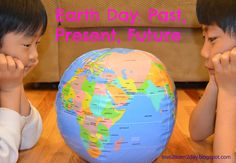#GPEarthday Lesson Plan:Earth Day Over Time: Past, Present, Future (lesson freebie!) via Cynthia Hockman-Chupp