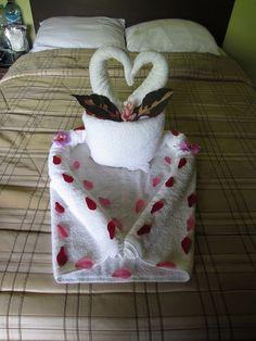 Learn Towel Origami: http://foldingmagic.com
