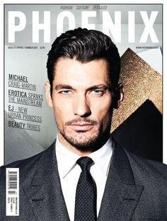 David Gandy Phoenix Magazine - Phoenix Magazine Issue 7 S/S 12 Cover