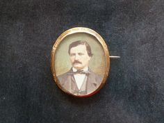 Antique french vintage  brooch pin  miniature by CabArtVintage
