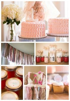 Sugar and Spice Birthday Party decor and food ideas. {www.homemadeinterest.com}