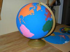 Making Montessori Globes