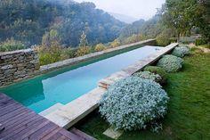 Nicole de Vesian´s garden yet again, another view of the pool.