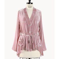 Painted Velvet fabric summer fashion, chantel velvet, style, cloth, desert chantel, velvet jacket, jackets, boho sweater, velvet blazer