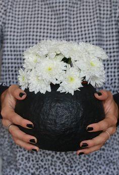 DIY, Black & White pumpkins, www.babasouk.ca