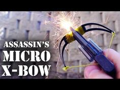 Assassin's Micro Crossbow - YouTube