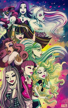 love monster high!