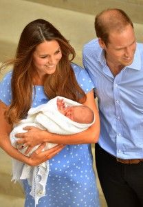 Kate Middleton, Prince William, and the little Prince