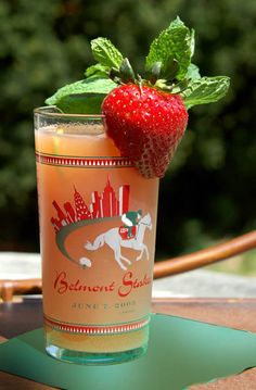 Belmont Breeze - New traditional drink of the Belmont Stakes