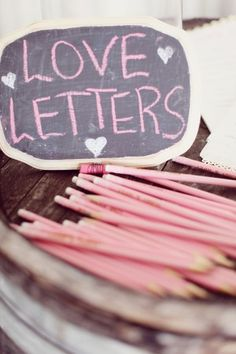 Write 28 love letters in January to give to your boyfriend each day of February