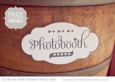 free photobooth label