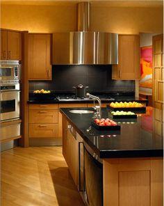Elegant Contemporary Kitchen by Jamie Herzlinger