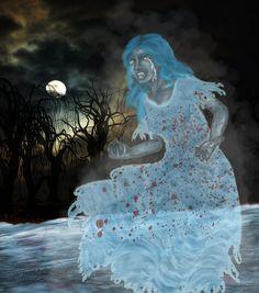 La Llorona and 6 other terrifying Latin American legends and folklore. #actividadcultural #lallorona #leyendas