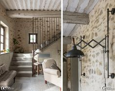 Maison escalier on pinterest stairs staircases and staircase ideas - Decoration rampe escalier ...
