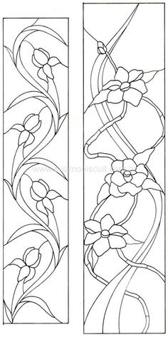 ::ARTESANATO VIRTUAL - Tecnicas de Artesanato | Dicas para Artesanato | Passo a Passo:: flower pattern stained glass
