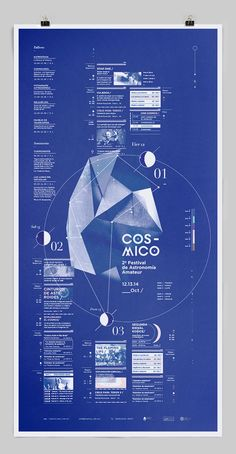 Cósmico_ by Clara Fernández, via Behance
