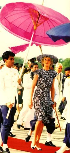 Diana, Princess of Wales in Thailand