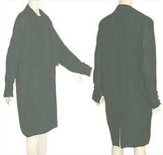 Gillian 80s vintage green silk dress.