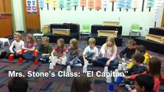 Mrs. Stone's Class Cup Routine  for Sousa's El Capitan