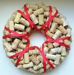 Cork Wreath!