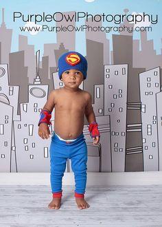 Superman Beanie Crochet Pattern