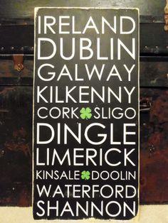 Some Irish Places I've seen