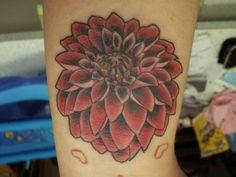 dahlia tattoo - Google Search