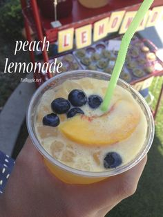 peach lemonade recip