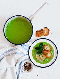 Green Peas Soup