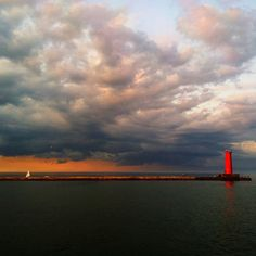 #Sheboygan #Wisconsin #lighthouse I have been to with lighthouse!