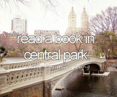 bucketlist, centralpark, parks, doctor who, bridg