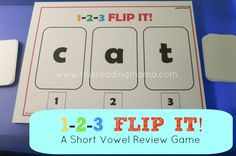 games, classroom, letter, kindergarten freebi, read, vowel game, fun phonic, game boards, preschool
